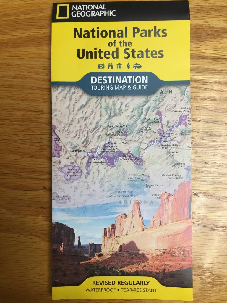 Nat'l Geo Destination Map