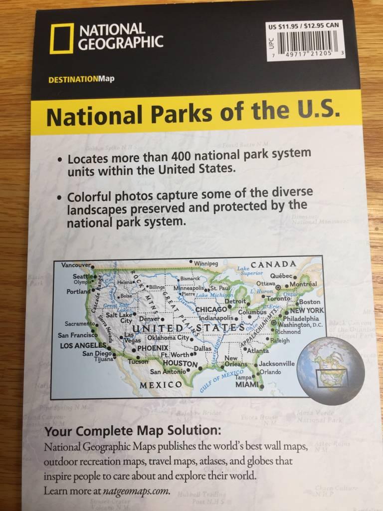 Nat'l Geo Destination Map