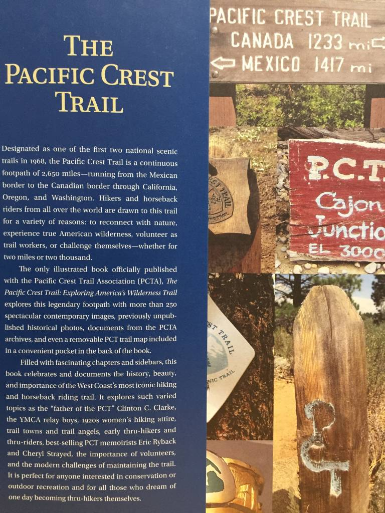 Pacific Crest Trail Hardback