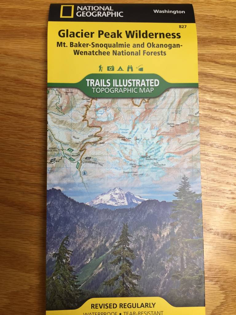 Trails Illustrated Glacier Peak Wilderness Map