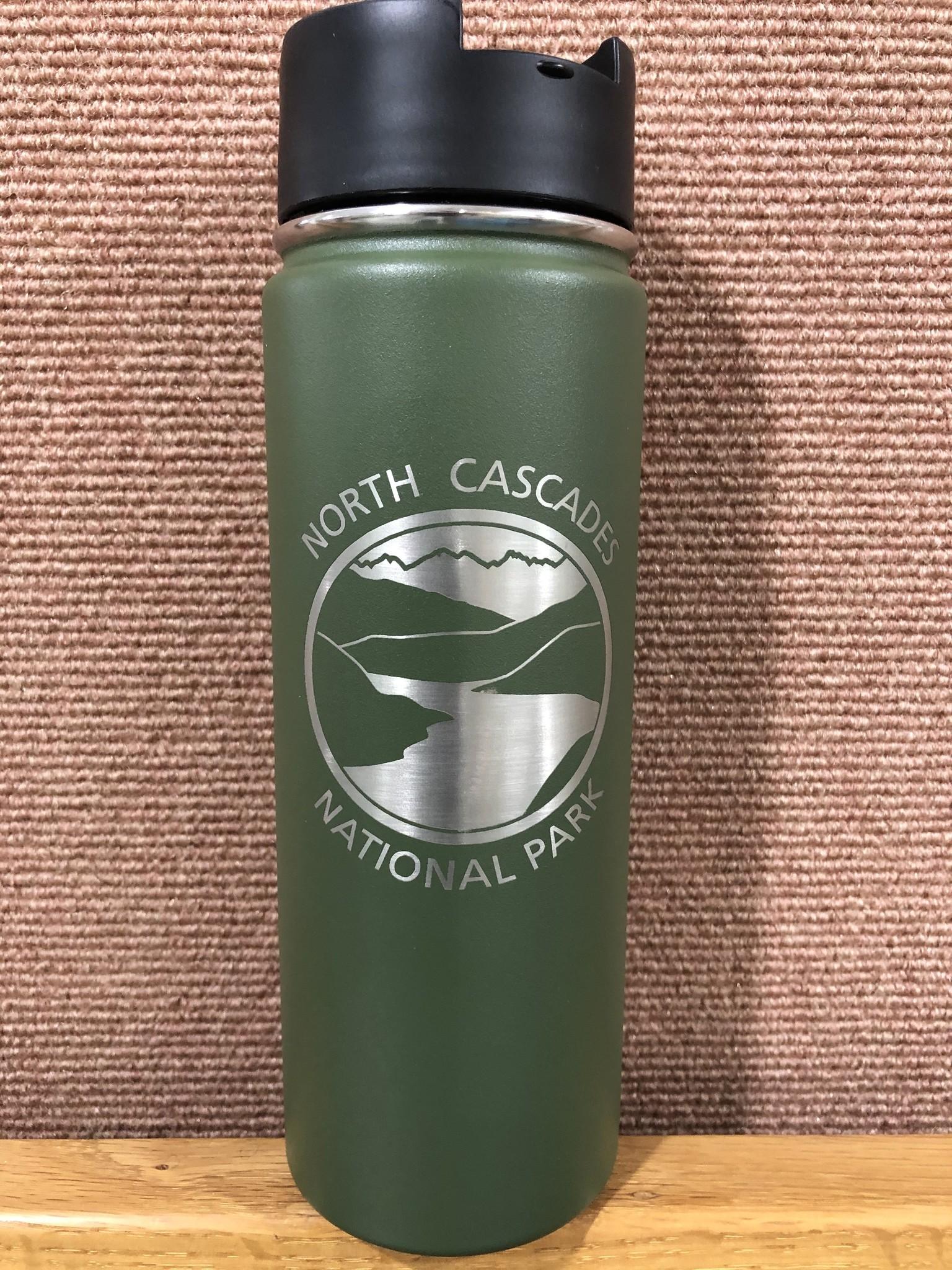 Hydro Flask Hot drink Bottle NCNP Olive 20 oz
