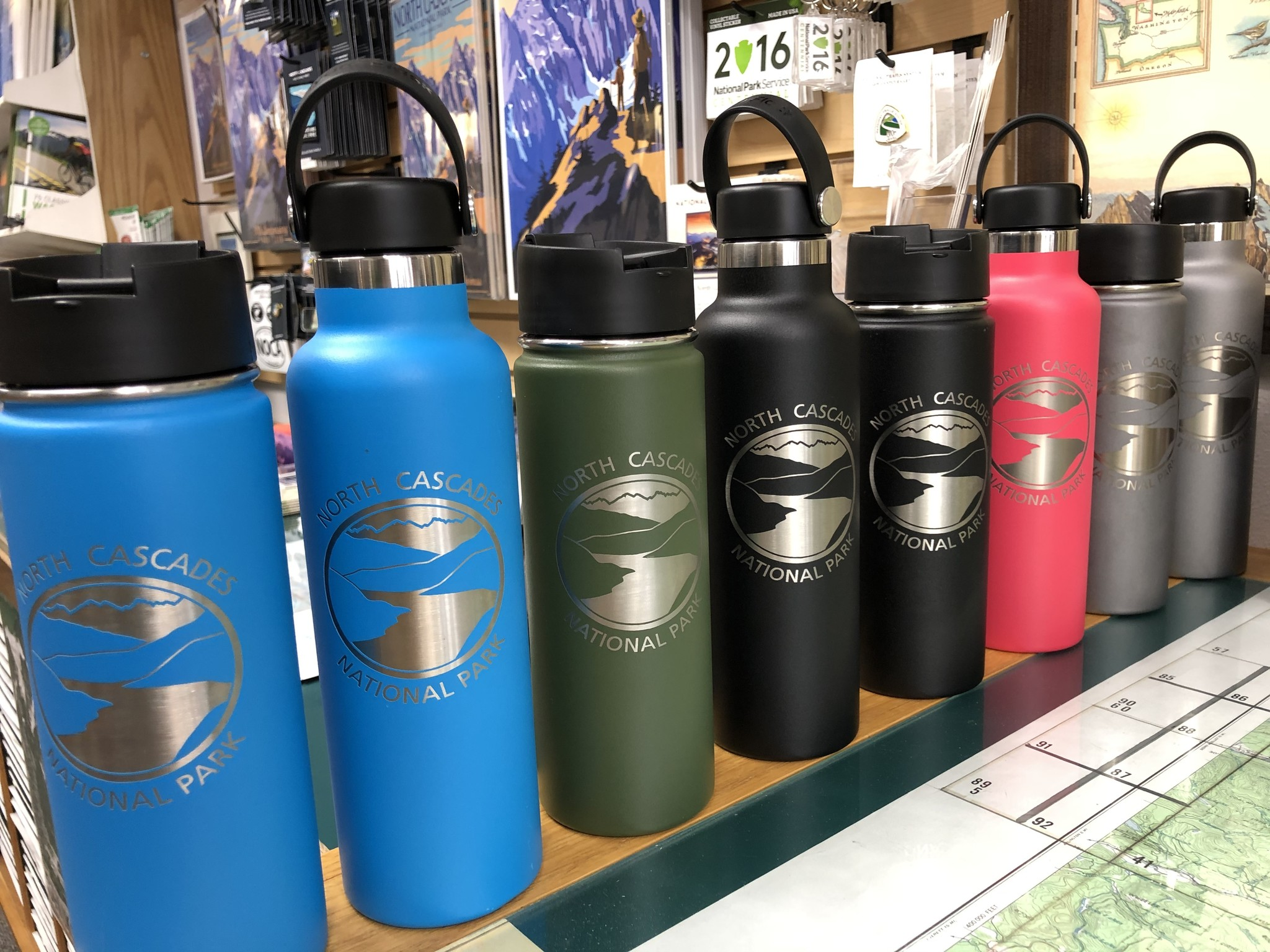 Hydro Flask Water Bottle NCNP Pacific 21 oz