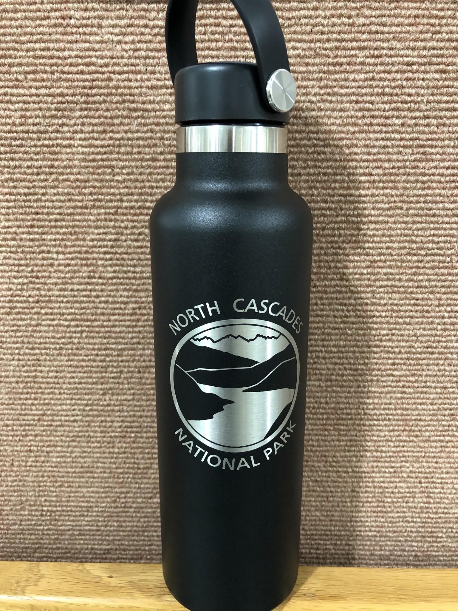 Hydro Flask Water bottle NCNP Black 21 oz
