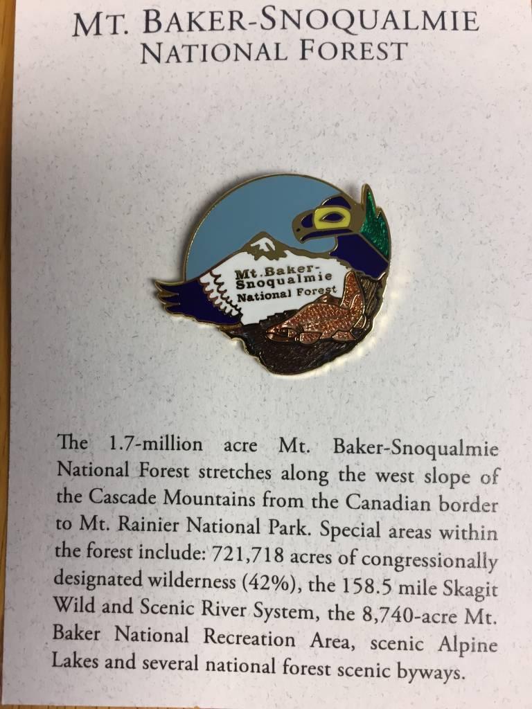 Pin Mt Baker Snoqualmie