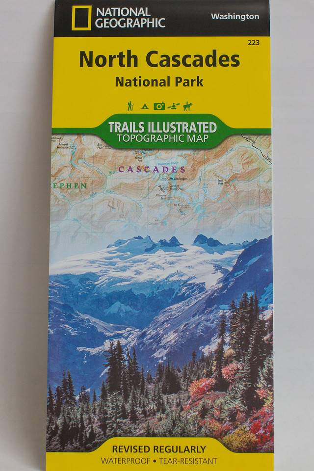 Trails Illustrated North Cascades National Park Map