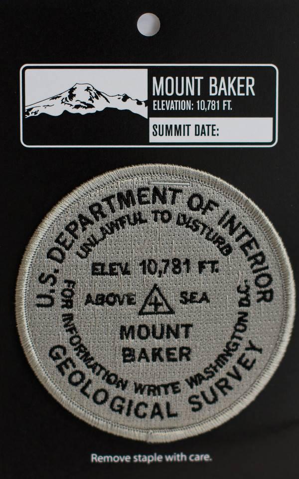 Patch Mt. Baker Bench Mark