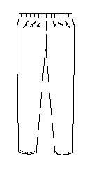 Pull-On Pants (6549TD)