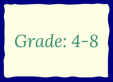 Grade: 4-8
