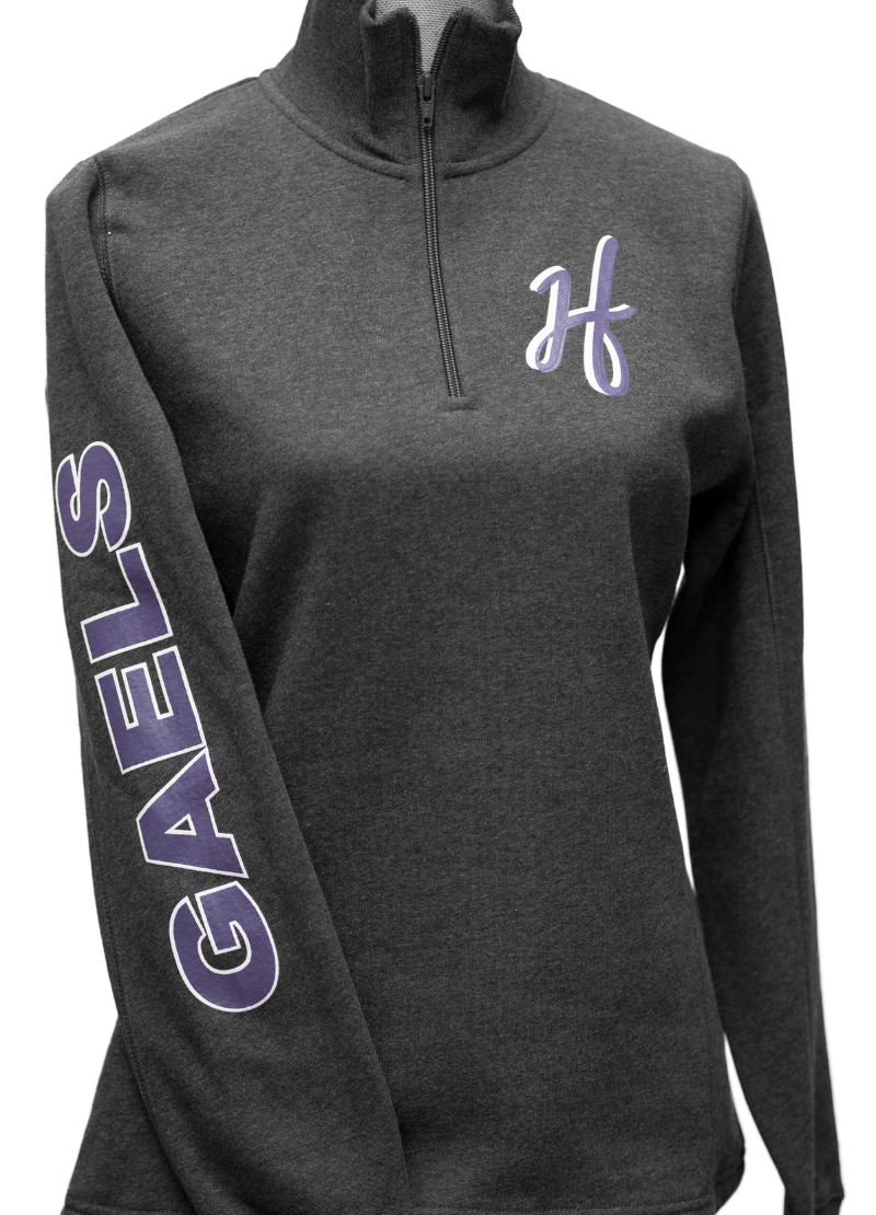 HF High School (HFHS) Half Zip Sweatshirt