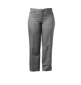 Junior Grey Gab Pants (4038JR)