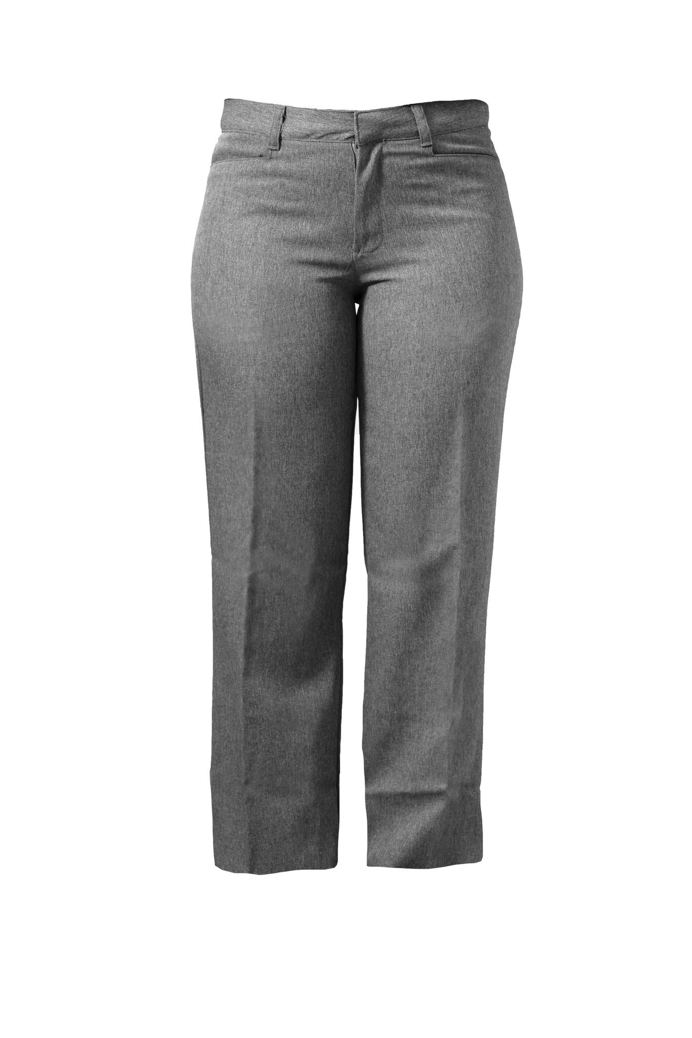 Junior Grey Gab Pants (4038JR)