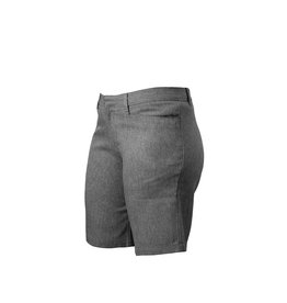 Grey Gabardine Shorts (4037JR)