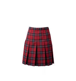 Mayfield Red Plaid Skirt