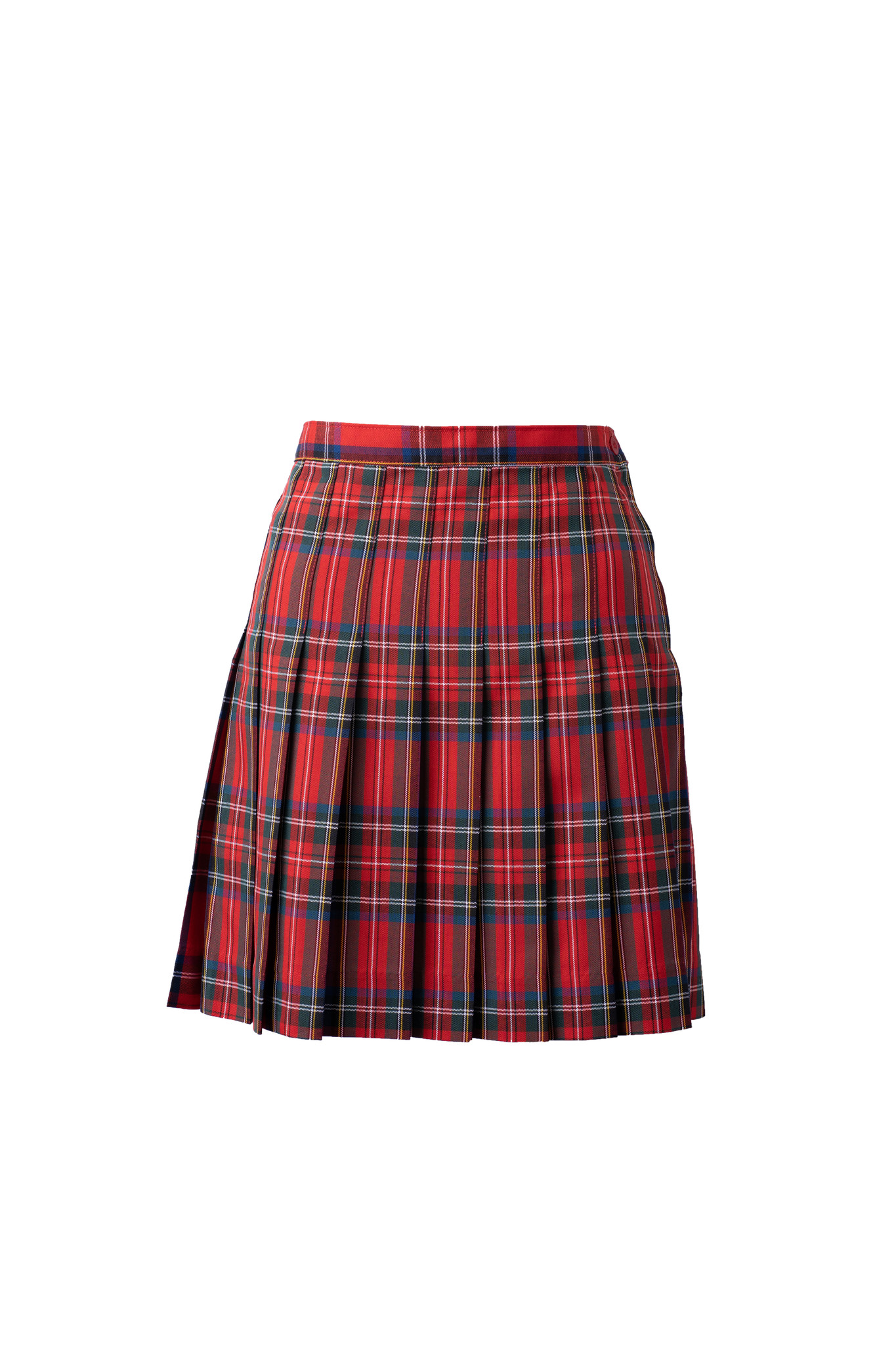 Flintridge Sacred Heart Red Plaid Skirt