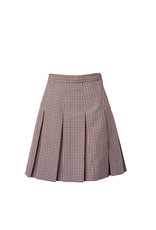 Mayfield Brown Plaid Skirt