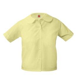 Peter Pan S/S Blouse w/ Pocket (9380) Yellow