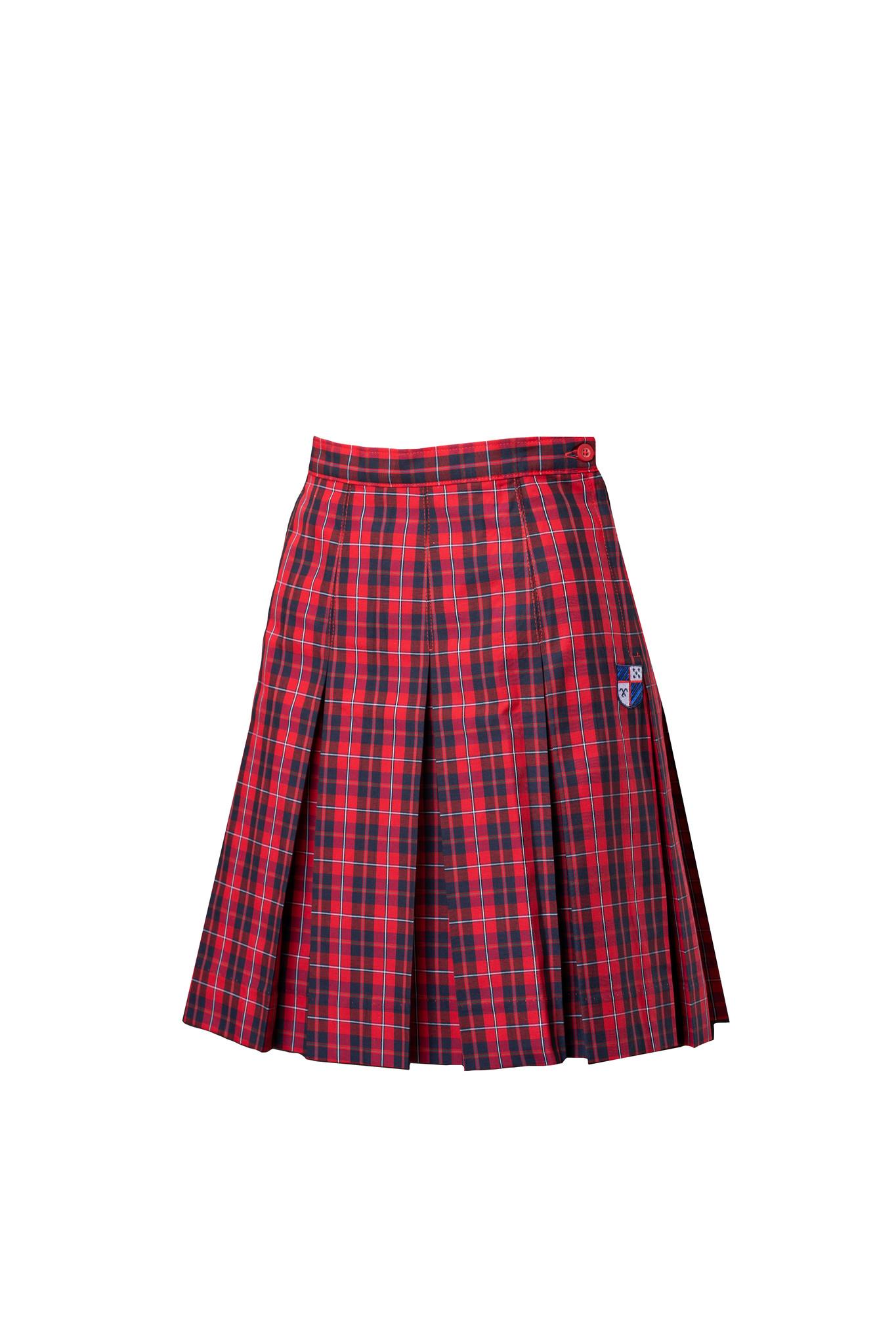 La Salle College Preparatory Plaid Skirt
