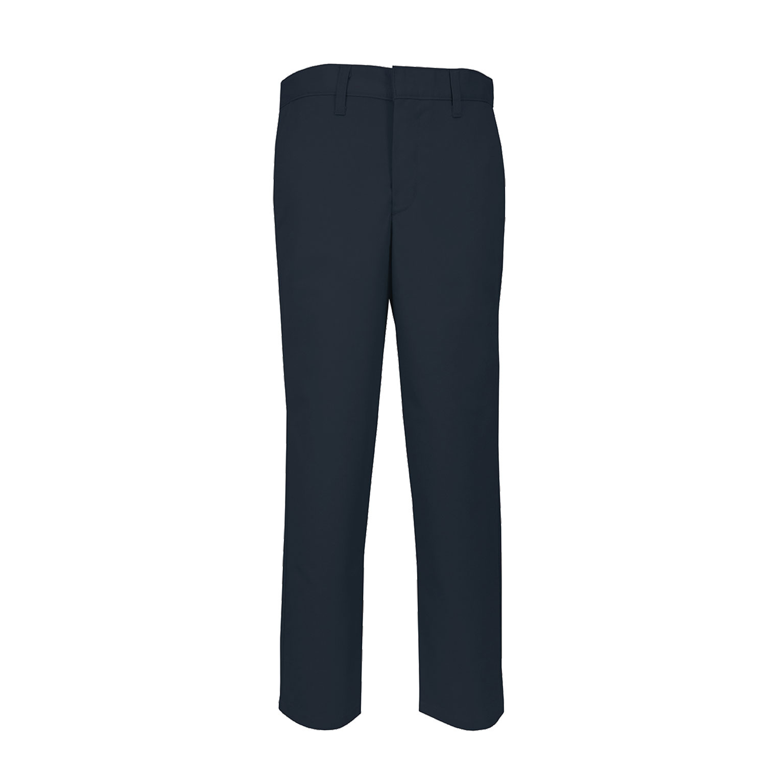 MVP Flex Twill Modern Fit Flat Front Pants (7893) Navy