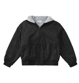 Assumption Zip Front Bomber Jacket