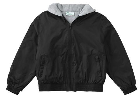 Assumption Zip Front Bomber Jacket