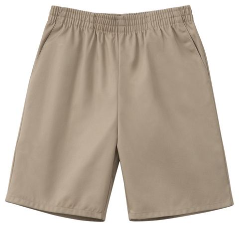 Unisex Pull-On Short Khaki
