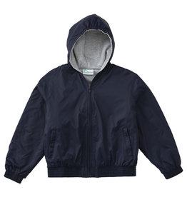 Santa Teresita School Zip Front Bomber Jacket