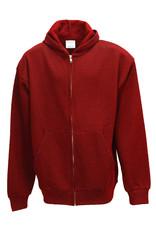 St. Philip Zipper Sweatshirt with Embroidered Logo