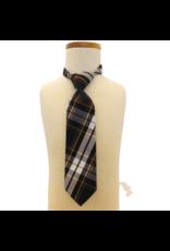 Assumption Plaid Tie