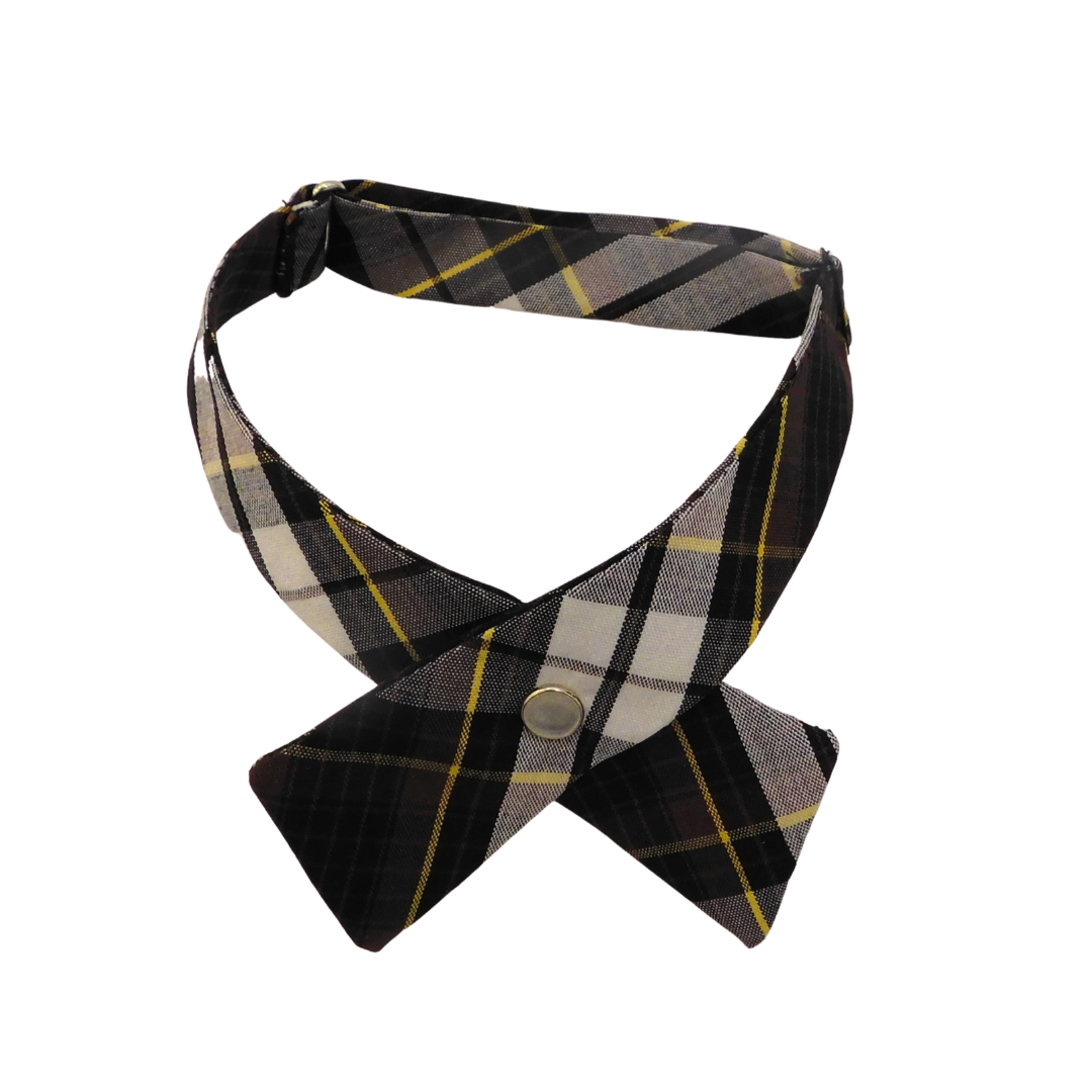 Assumption Tie Plaid Crossover
