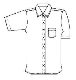 Boys Short Sleeve Oxford (Tom Sawyer)