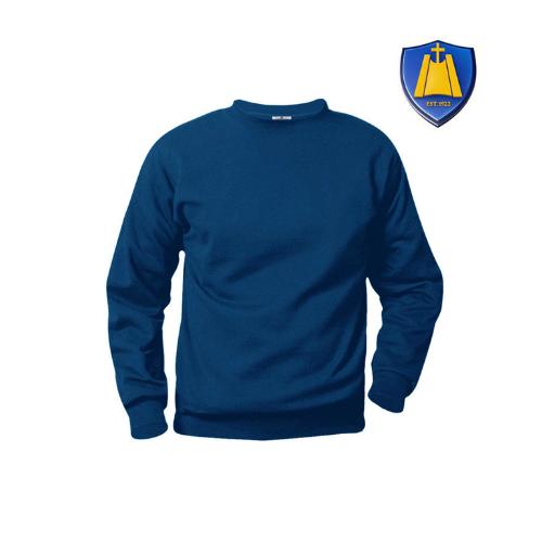 St. Rita Crew Sweatshirt with Logo