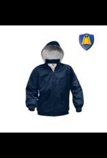 St. Rita Nylon Outerwear Jacket with Logo