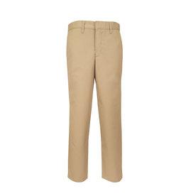 Mens Plain Front Pants (7120M) Khaki