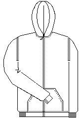 South Hills Academy Zipper Sweatshirt (School Apparel)
