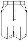 Boys Regular Plain Front Twill Shorts w/ Adjustable Waistband Short (7099R) Grey