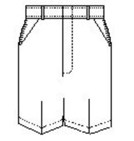 Mens Flat Front Shorts (7033M) Khaki