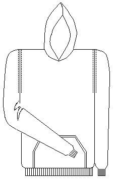 St. Andrew  Hooded Sweatshirt (School Apparel)