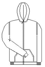 St. Andrew Zipper Sweatshirt (School Apparel)