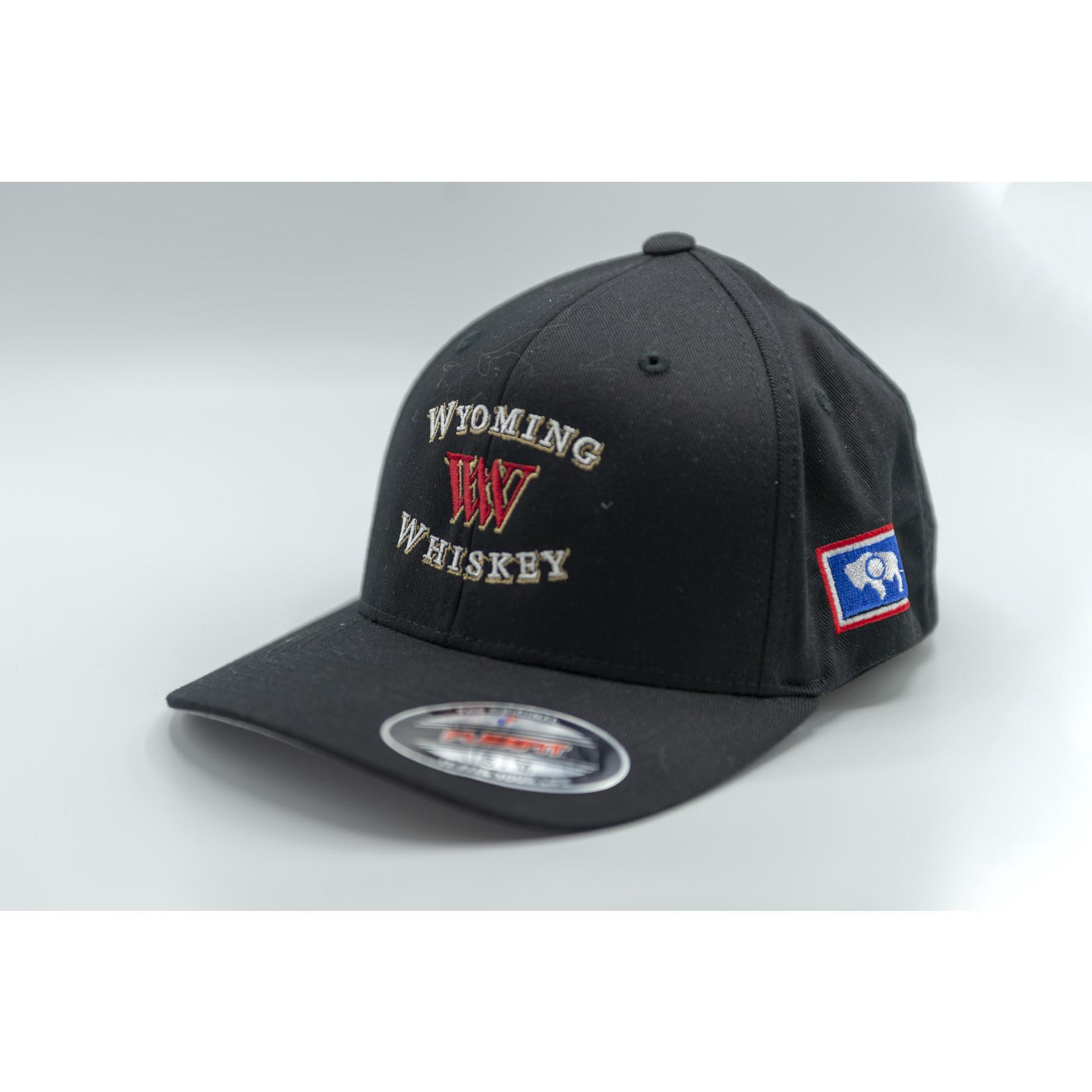 Yupoong Flexfit twill Black FlexFit Ball Cap