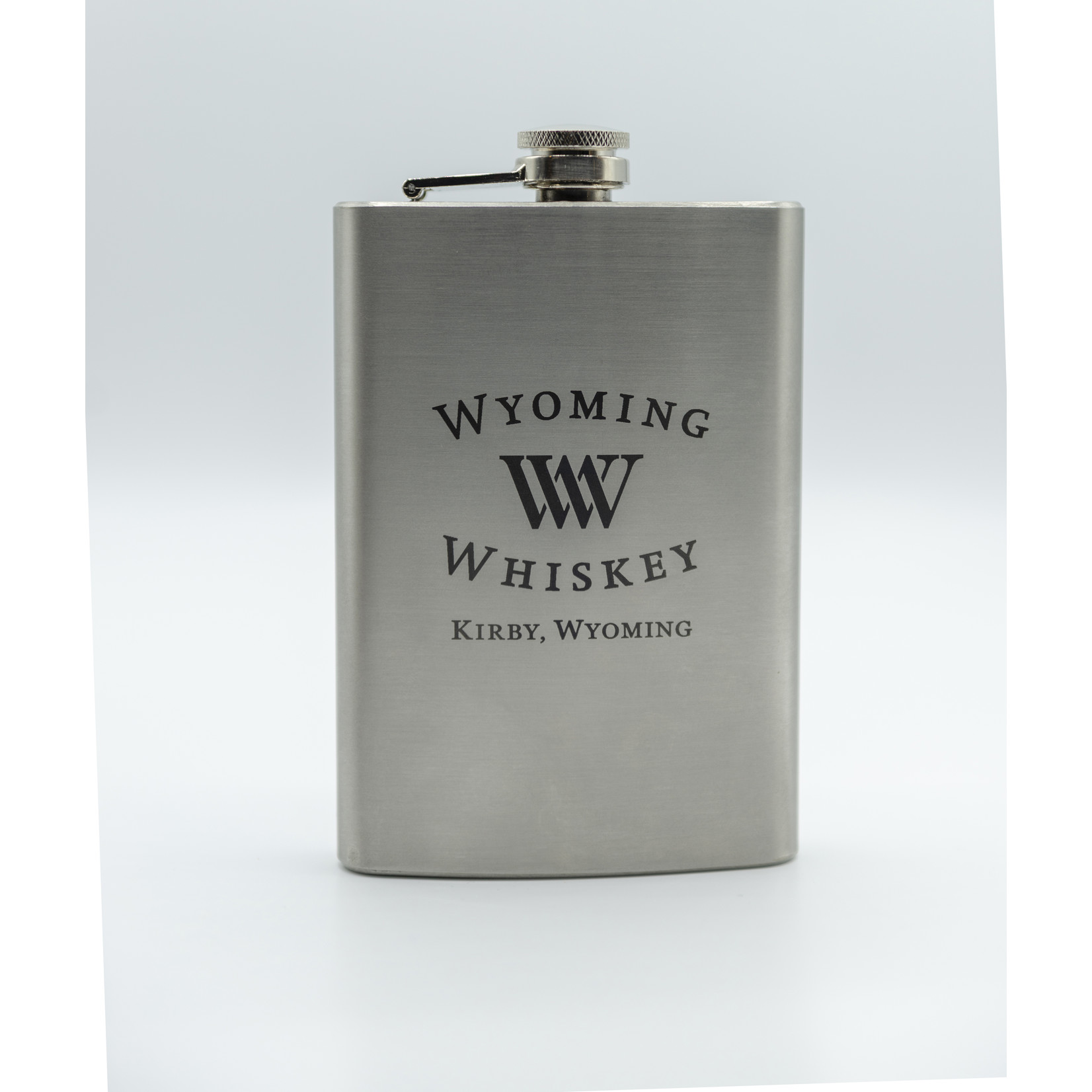 CKB Products Laser Engraved Stainless Steel Flask 8 oz.