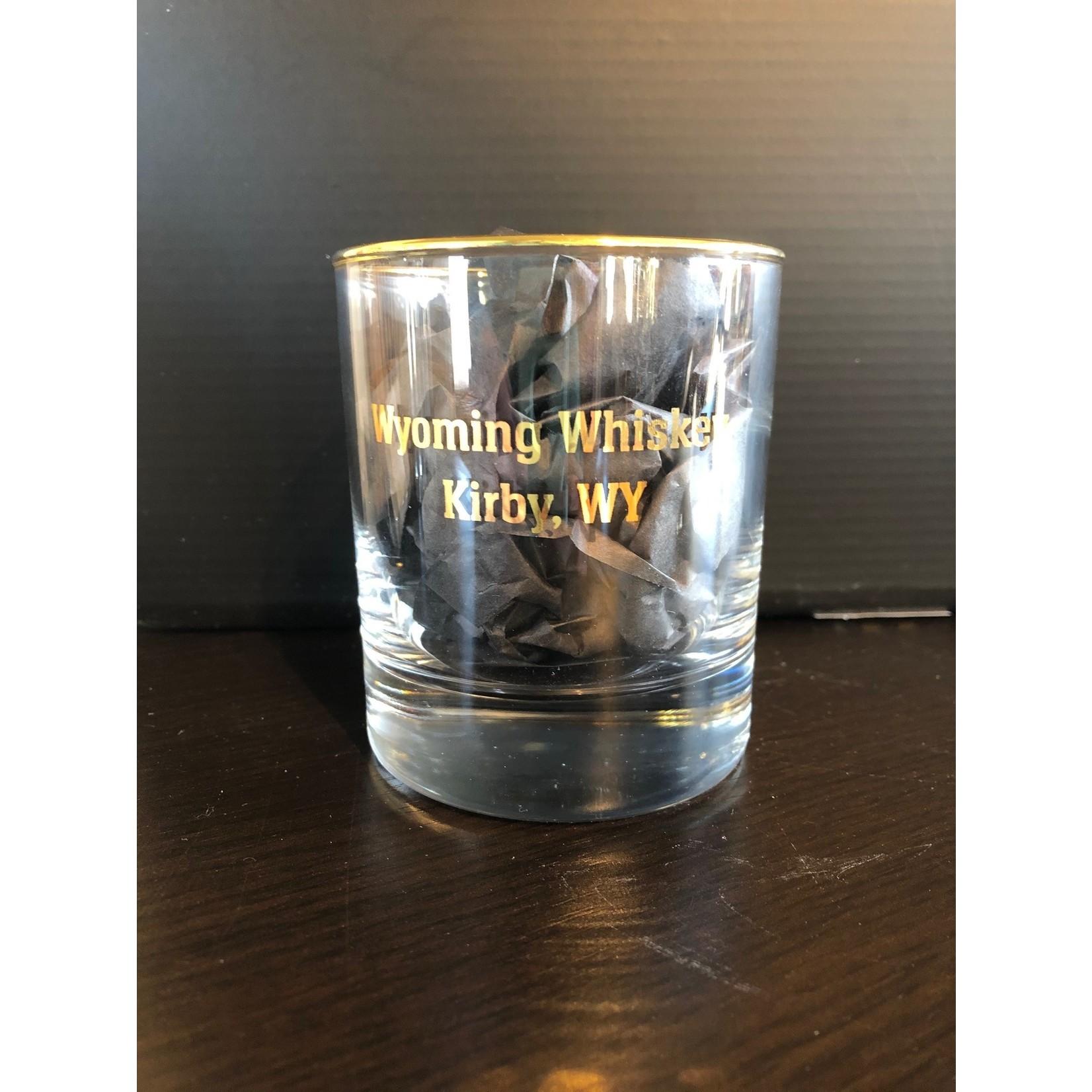 Gold Rim 10oz Old Fashioned Glass