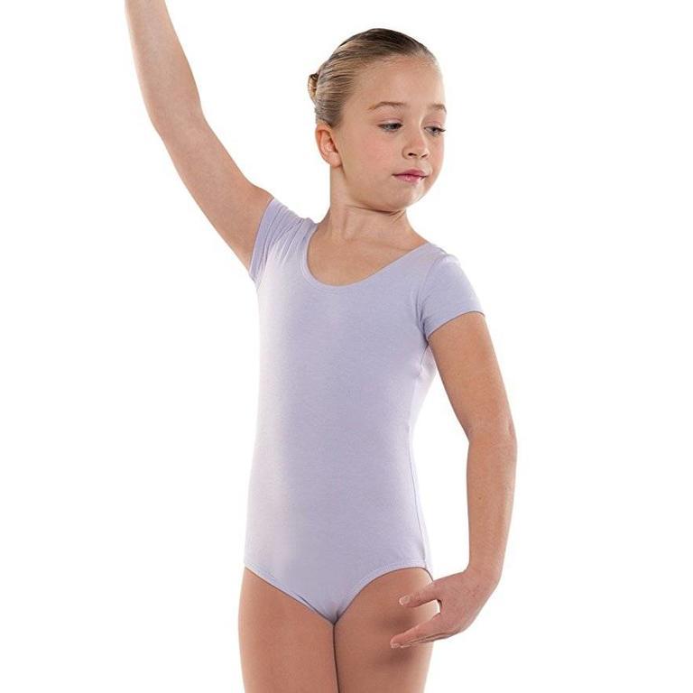 d4a1aa849 Danshuz - Child Cotton Cap Sleeve Leotard Youth - Bellissimo