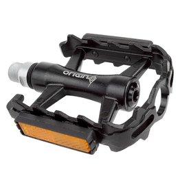 Origin8 Origin8 Classique Pro Sealed Pedals 9/16 Black w/Reflectors