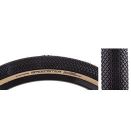 Vee Tire Co. 24x1.75 VEE Tire Co. Speedster Black w/Skinwall Folding