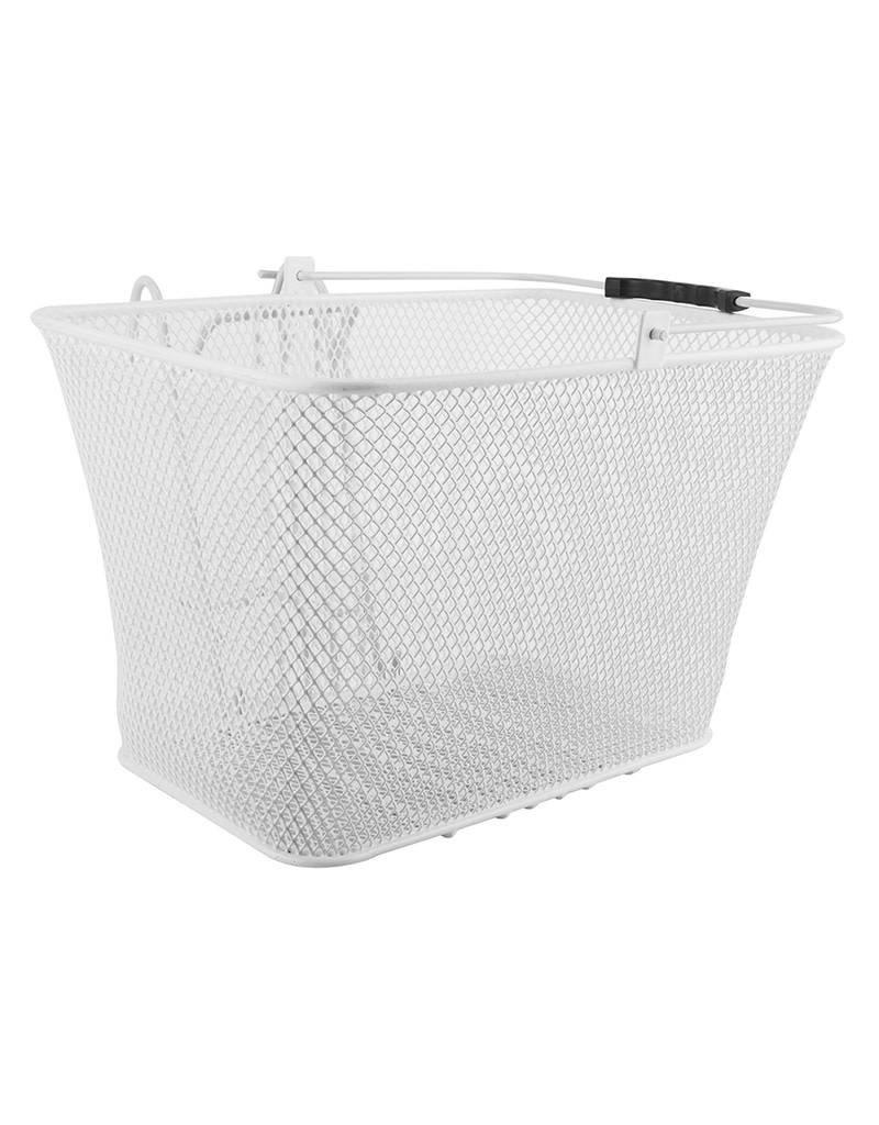 Sunlite Mesh Lift-Off Front Basket White 14.5x8.5x7 w/Bracket