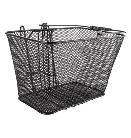 Sunlite Mesh Lift-Off Front Basket Black 14.5x8.5x7 w/Bracket