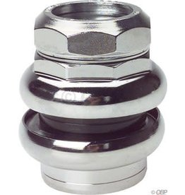 "Tange-Seiki Tange Levin CDS 1"" Threaded Headset: 27.0mm Crown Race Chrome"