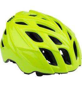 Kali Protectives Kali Chakra Mono Helmet: Solid Fluoro Yellow SM/MD