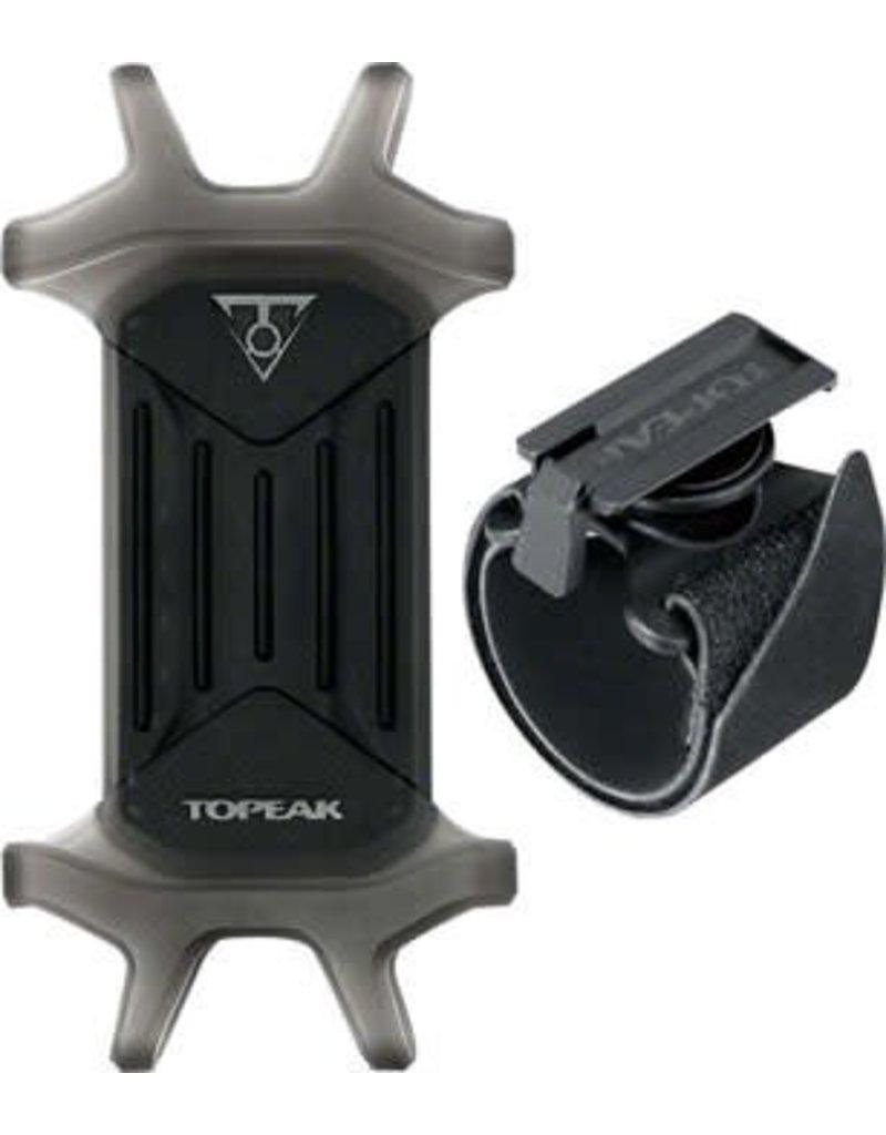 "Topeak Topeak Omni RideCase for 4.5"" to 5.5"" Phones w/ adj strap mount black"