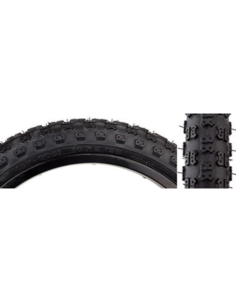 Kenda 16x2.125 Kenda/Sunlite K50 MX3 Tire: Black, Steel Bead